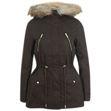 Buy Miss Selfridge Parka Coat Online at johnlewis.com