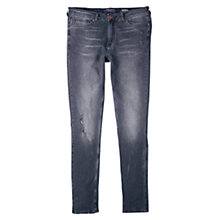 Buy Violeta by Mango Super Skinny Jeans, Open Grey Online at johnlewis.com