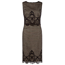 Buy Kaliko Stripe and Floral Dress, Black Multi Online at johnlewis.com
