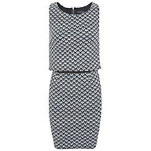 Buy Miss Selfridge Zig Zag Print Layer Dress, Multi Online at johnlewis.com