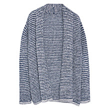 Buy Violeta by Mango Metallic Detail Cardigan, Navy Online at johnlewis.com