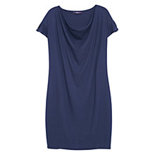 Buy Violeta by Mango Shift Dress, Dark Blue Online at johnlewis.com