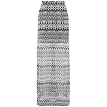 Buy Miss Selfridge Zig Zag Maxi Skirt, Multi Online at johnlewis.com