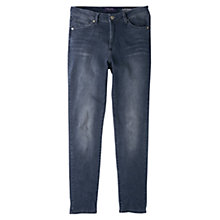 Buy Violeta by Mango Alexandra Super Skinny Jeans, Open Grey Online at johnlewis.com