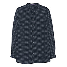 Buy Violeta by Mango Flowy Printed Shirt Online at johnlewis.com