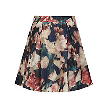 Buy Reiss Paulo Printed Mini Skirt, Night Navy Online at johnlewis.com