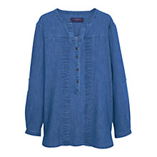Buy Violeta by Mango Denim Shirt, Medium Blue Online at johnlewis.com