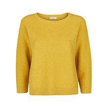 Buy Hobbs Coira Jumper, Yellow Online at johnlewis.com