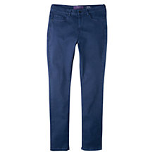 Buy Violeta by Mango Super Slim-Fit Anabel Trousers, Navy Online at johnlewis.com
