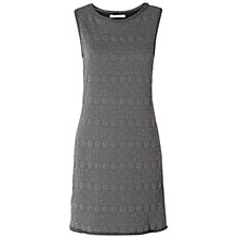 Buy Max Studio Sleeveless Textured Knit Dress, Heather Charcoal Online at johnlewis.com