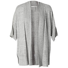 Buy Max Studio Short Sleeve Cardigan, Tweedy Grey Online at johnlewis.com