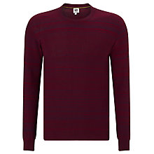 Buy Kin by John Lewis Space Dye Stripe Jumper, Red Online at johnlewis.com