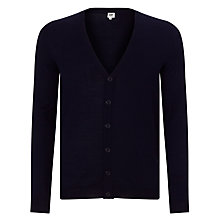 Buy Kin by John Lewis Merino Blend Cardigan, Navy Online at johnlewis.com
