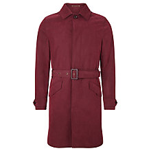 Buy JOHN LEWIS & Co. Belted Trench Coat, Oxblood Online at johnlewis.com