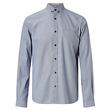 Buy Kin by John Lewis Fine Stripe Shirt, Blue Online at johnlewis.com
