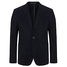 Buy Kin by John Lewis Pique Cotton Blazer, Dark Navy Online at johnlewis.com
