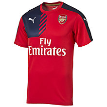 Buy Puma Children's Arsenal F.C. Training Top, Red Online at johnlewis.com