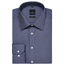 Buy Daniel Hechter Broken Stripe Tailored Fit Shirt, Mid Blue Online at johnlewis.com