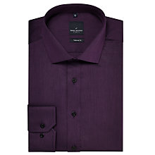 Buy Daniel Hechter Semi Plain Tailored Fit Shirt Online at johnlewis.com