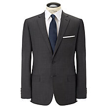 Buy Daniel Hechter Crossweave Single Breasted Suit Jacket, Grey Online at johnlewis.com