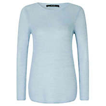 Buy Oui Knit Jumper, Light Blue Online at johnlewis.com