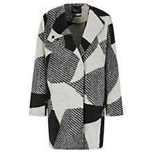 Buy Oui Coat, Grey/Black Online at johnlewis.com