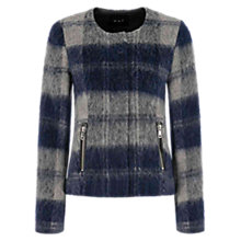Buy Oui Jacket, Light Stone Grey Online at johnlewis.com
