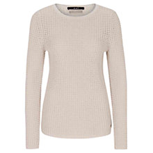 Buy Oui Textured Sweater, Off White Online at johnlewis.com