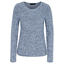 Buy Oui Knitted Sweater, Light Blue Online at johnlewis.com