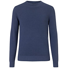 Buy Hackett London Garment Dyed Crew Neck Jumper Online at johnlewis.com