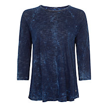Buy Maison Scotch Drape Raglan Top Online at johnlewis.com