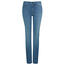 Buy NYDJ Slim Straight Jeans, Evansdale Wash Online at johnlewis.com