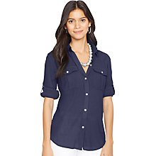 Buy Lauren Ralph Lauren Ristow Shirt, Indigo Sky Online at johnlewis.com
