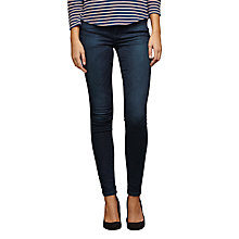Buy Maison Scotch Le Voyage Super Skinny Jeans, Esmeralda Online at johnlewis.com