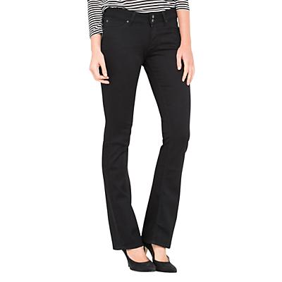 Lee Joliet Slim Bootcut Jeans, Black Rinse