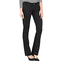Buy Lee Joliet Slim Bootcut Jeans, Black Rinse Online at johnlewis.com