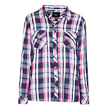 Buy Rails Hunter Plaid Shirt, White/Cherry Online at johnlewis.com