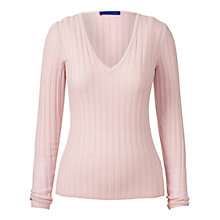 Buy Winser London Merino Wool Ribbed Jumper Online at johnlewis.com