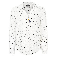 Buy Maison Scotch Iconic Drop Print Shirt Online at johnlewis.com