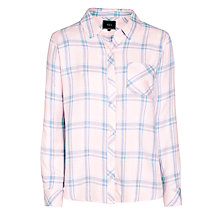 Buy Rails Hunter Plaid Shirt, Pink/Blue Melange Online at johnlewis.com