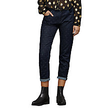 Buy Maison Scotch Petit Ami Print Slim Boyfriend Jeans, Laser Map Online at johnlewis.com
