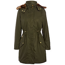 Buy Joules Gayle Waterproof Parka, Dark Pine Online at johnlewis.com