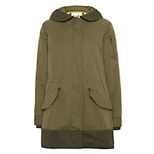 Buy Maison Scotch Parka Jacket, Army Online at johnlewis.com