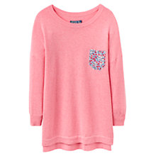 Buy Joules Dulcie Drop Shoulder Jumper, Fondant Pink Online at johnlewis.com