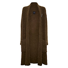 Buy Maison Scotch Boucle Cardigan, Moss Online at johnlewis.com