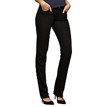 Buy DL1961 Coco Curvy Straight Jeans, Riker Online at johnlewis.com