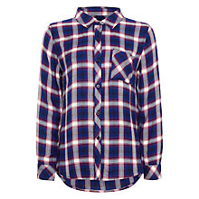 Buy Rails Hunter Shirt, Cobalt/Ruby Online at johnlewis.com