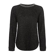 Buy Maison Scotch Romantic Sweatshirt, Grey Melange Online at johnlewis.com