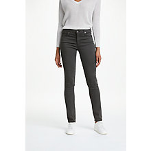 Buy AG The Sateen Prima Skinny Jeans, Cavern Online at johnlewis.com