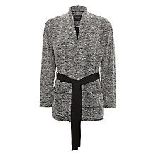 Buy Maison Scotch Wrap-Over Blazer, Grey Online at johnlewis.com